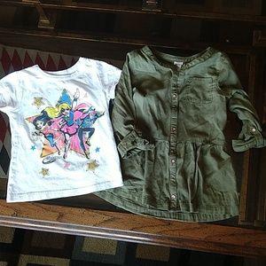 DC/Carter's, girl's bundle